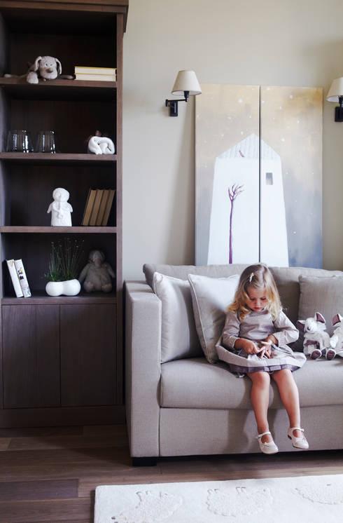 Квартира в Москве на улице Станиславского: Детские комнаты в . Автор – Дизайн бюро Татьяны Алениной