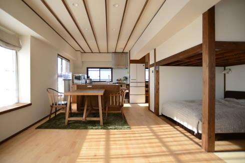 御嶽山・ROOM・T(ONTAKESAN・ROOM・T): 吉田裕一建築設計事務所が手掛けたダイニングです。