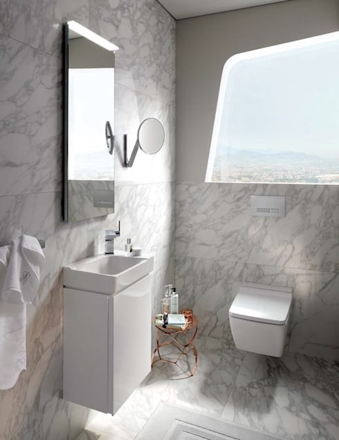 modern Bathroom by Badkamer & Tegels magazine