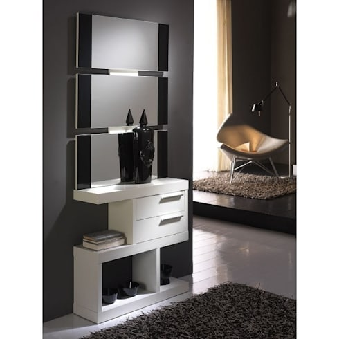 Muebles de recibidor de muebles arnal homify - Consolas recibidor modernas ...