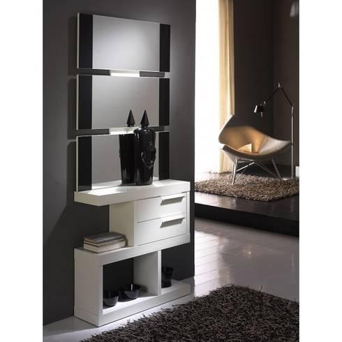 Muebles de recibidor de muebles arnal homify - Mueble recibidor moderno ...