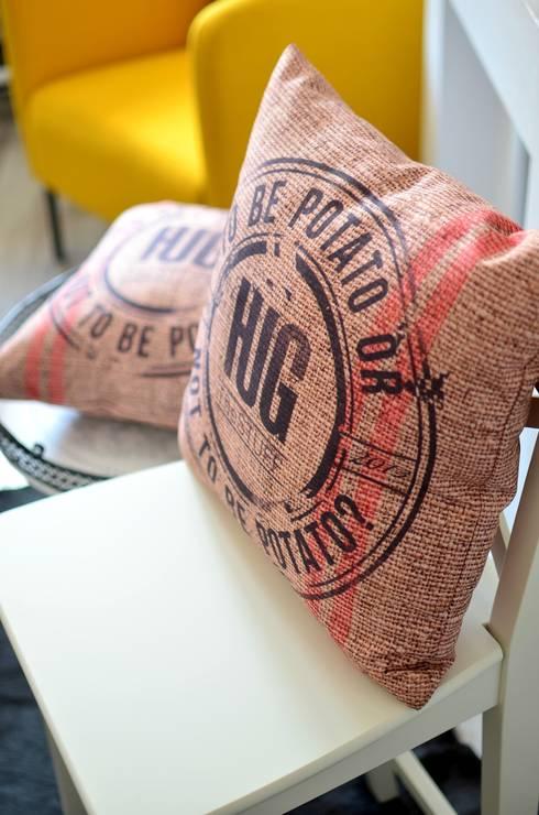 BI.OR.NOT: styl , w kategorii Sypialnia zaprojektowany przez HUG THE STUFF