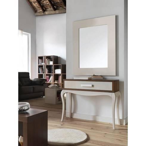Consolas modernas para recibidor beautiful consolas de madera coleccin natural with consolas - Consolas recibidor modernas ...
