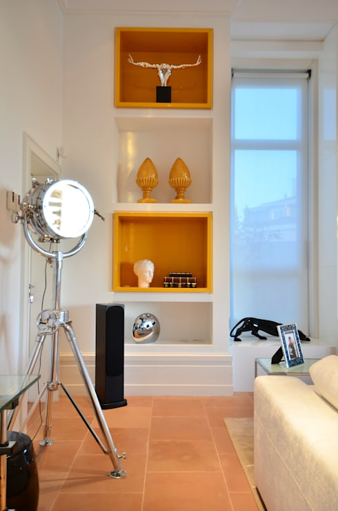 Casa Terra Ville I: Salas de estar modernas por Studio Cinque