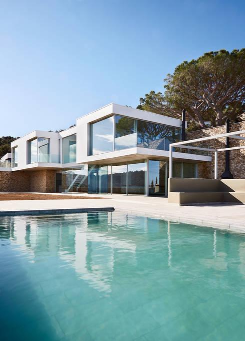Piletas de estilo mediterraneo por Pepe Gascón arquitectura