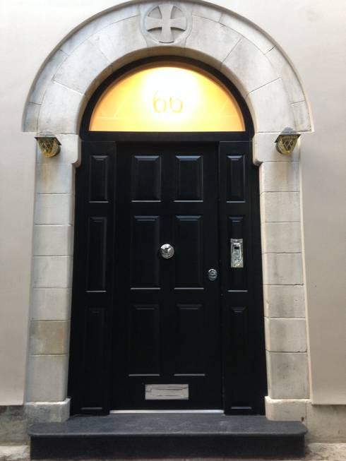 Projekty,  Okna zaprojektowane przez Stronghold Security Doors