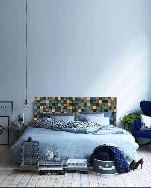 industrial Bedroom by DrewnianaŚciana