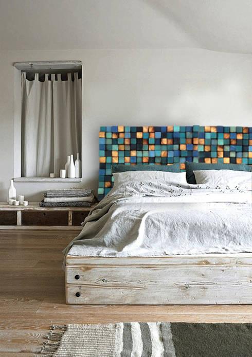 country Bedroom by DrewnianaŚciana