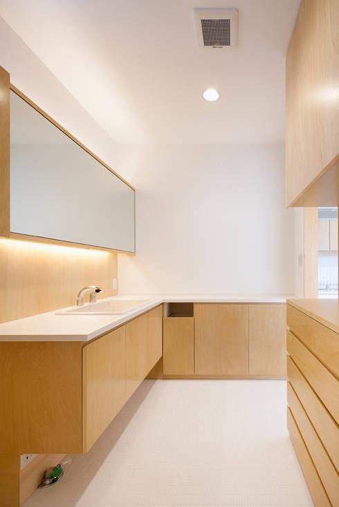 たつの の家: 株式会社ギミックが手掛けた浴室です。