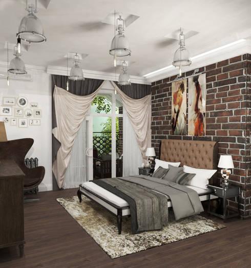 AnARCHI:  tarz Yatak Odası