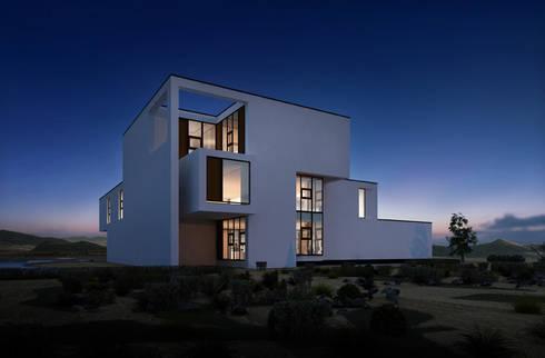 Modernes Haus Sowie Moderne Architektur Von CHZH Architektur U0026 Design Büro