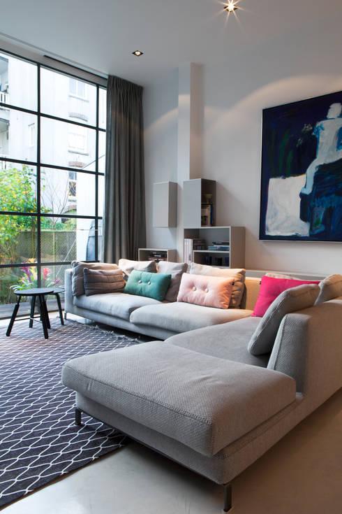 Living room by Binnenvorm