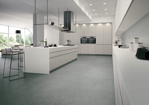 Porcelanicos Grandes Formatos : Cocinas de estilo minimalista de Ceramistas s.a.u.