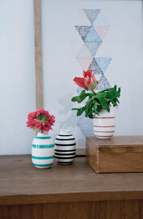 Vase-Set von Kähler Design:  Wohnzimmer von Stilherz