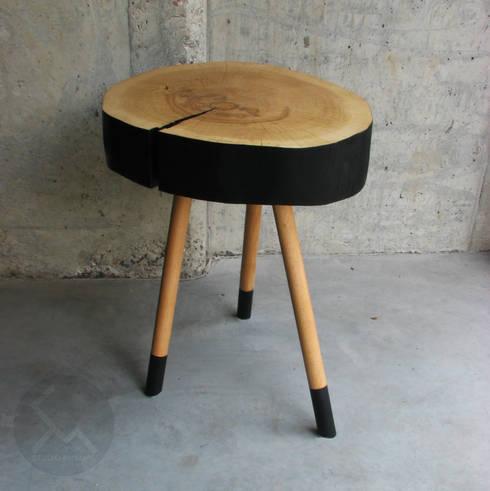 Chambre de style  par Studio Minimal Meble