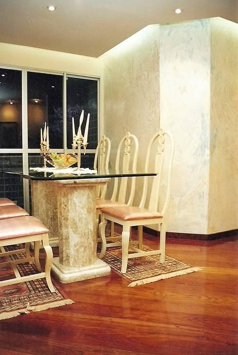 Projeto 7, Brasil: Salas de jantar ecléticas por Ana Cristina Daré