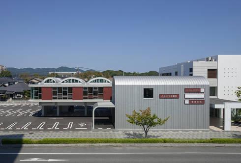 弥生が丘のクリニック: 山口修建築設計事務所が手掛けた病院です。