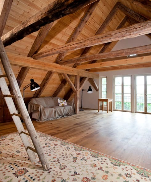 Dachboden/Musikraum:  Arbeitszimmer von WOF-Planungsgemeinschaft