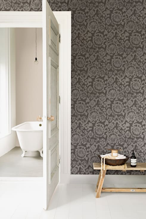 Wallpaper Denim:  Slaapkamer door BN International