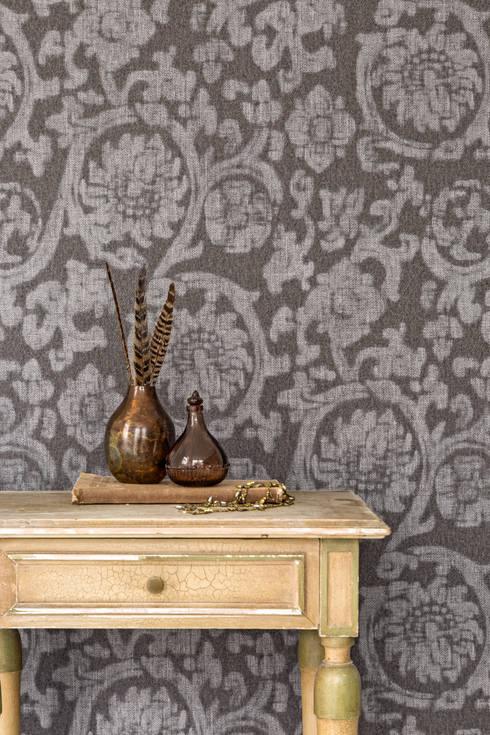 Wallpaper Denim:  Woonkamer door BN International