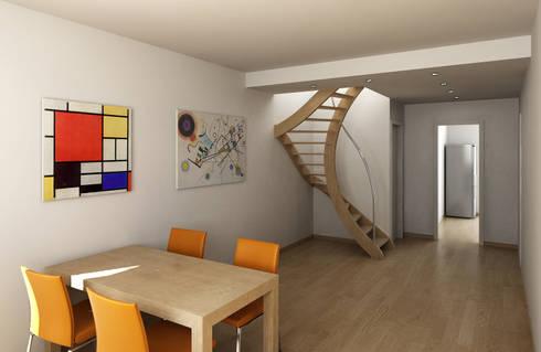 Ristrutturazione di un appartamento con parziale chiusura di ...