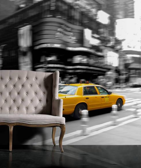 New York: moderne Woonkamer door BN International