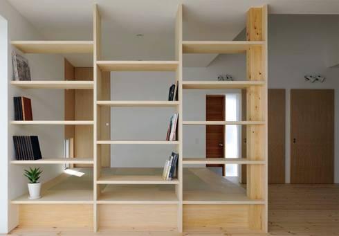 .: 嶋田忠博建築設計事務所が手掛けたリビングです。