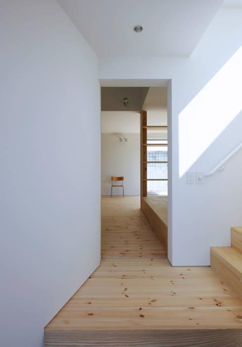 .: 嶋田忠博建築設計事務所が手掛けた廊下 & 玄関です。