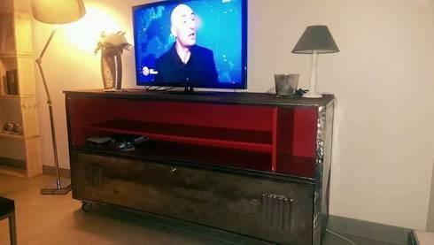 esprit loft recup mobilier industriel transform homify. Black Bedroom Furniture Sets. Home Design Ideas