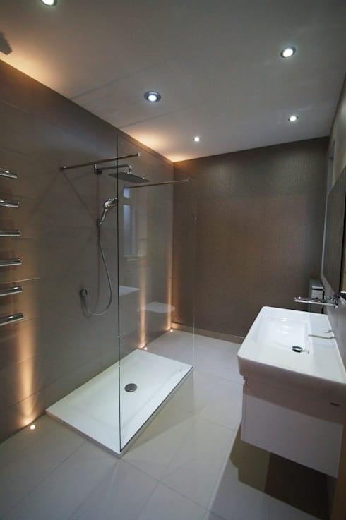 Taylors Etc Client Bathrooms : modern Bathroom by Taylors Etc