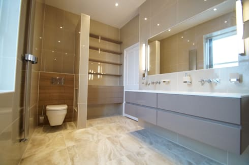Taylors Etc Client Bathrooms : scandinavian Bathroom by Taylors Etc