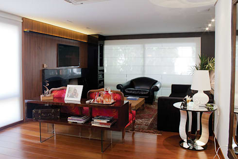 Apartamento Bairro Petrópolis: Salas de estar modernas por sac
