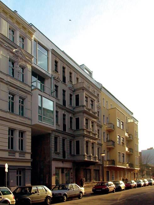 Choriner Straße 20/21:  Häuser von HAB - Hoyer Architekten Berlin