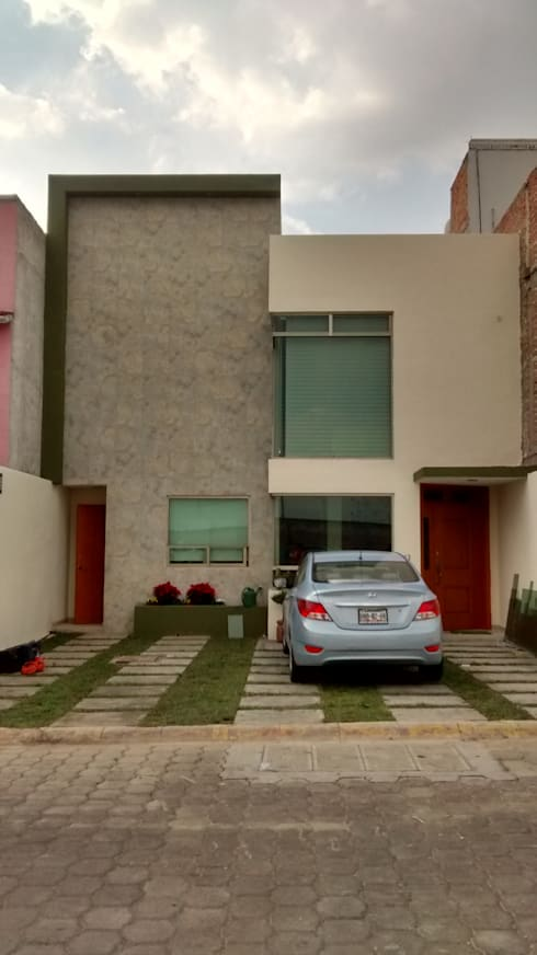CASA Habitación FGI: Casas de estilo moderno por ISLAS & SERRANO ARQUITECTOS