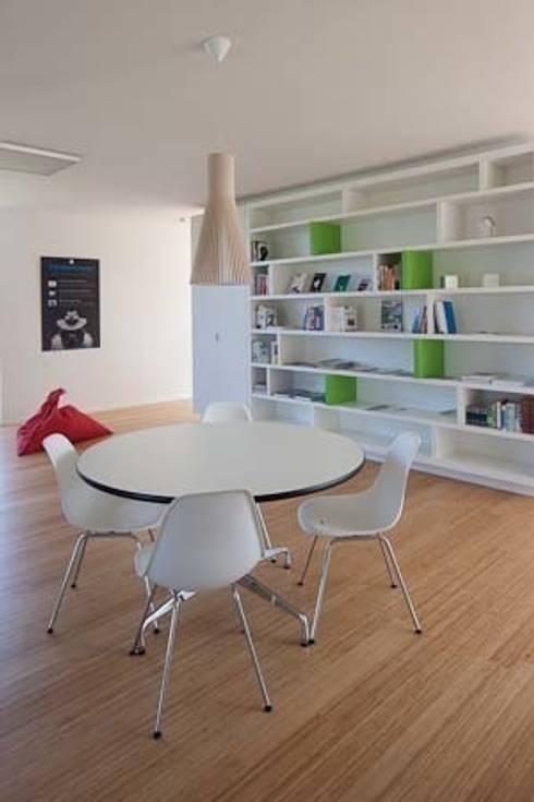 woning te Heverlee: moderne Studeerkamer/kantoor door hasa architecten bvba
