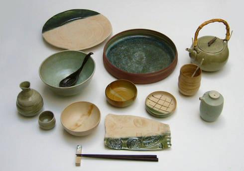 Vajilla japonesa: Cocina de estilo  de  Cerámica Micazuki