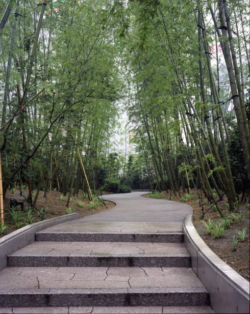 セルリアンタワー東急ホテル日本庭園 閑坐庭: 枡野俊明+日本造園設計が手掛けたホテルです。