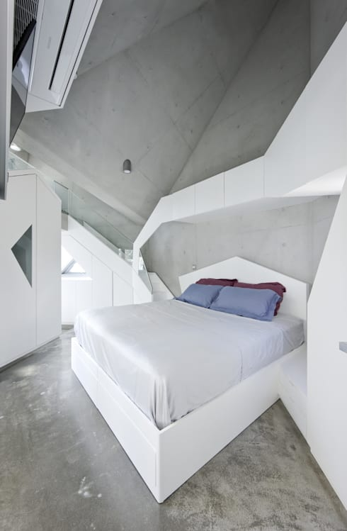 IROJE KIMHYOMANが手掛けた寝室