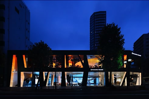 Mercedes-Benz Connection: 窪田建築都市研究所 有限会社が手掛けたです。