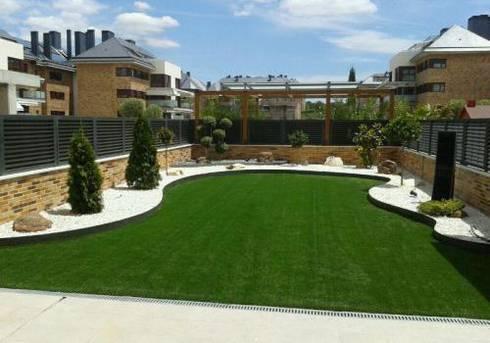 Dise o de jardines de bajo mantenimiento de homify - Jardin bajo mantenimiento ...
