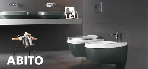 Sanitarios : Baños de estilo moderno de Ceramistas s.a.u.