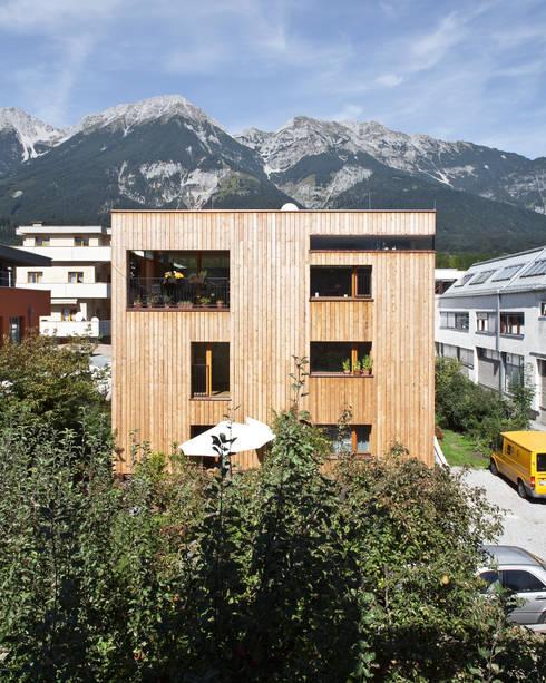 Transformation zum Zweiparteienhaus:  Häuser von Architekt Daniel Fügenschuh ZT GMBH