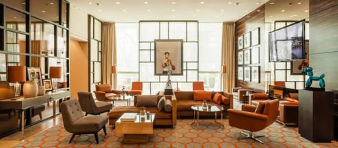 Interiordesign & Kunstkonzept Hotel Lobby:  Hotels von Fine Rooms Design Konzepte GmbH