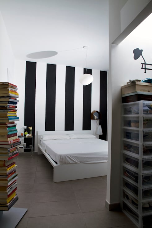 Casa B/R : Camera da letto in stile in stile Scandinavo di Lorenzo Rossi | Architetto