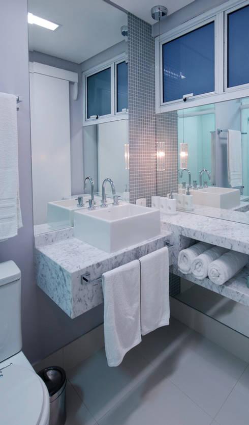 Lavabo: Banheiros modernos por Neoarch