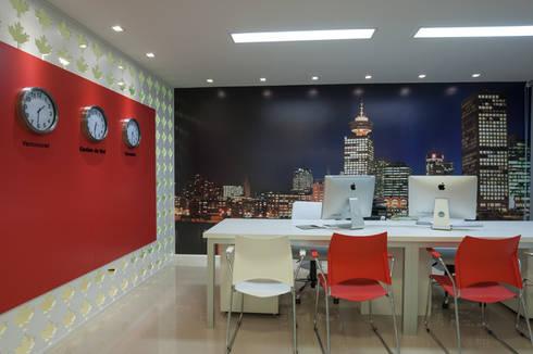 Canadá Intercâmio: Espaços comerciais  por Craft-Espaço de Arquitetura