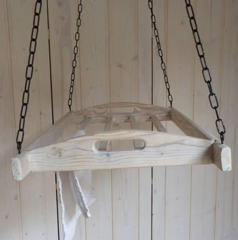 Lybste Badmoebel : rustikale Badezimmer von Lybste Badmoebel