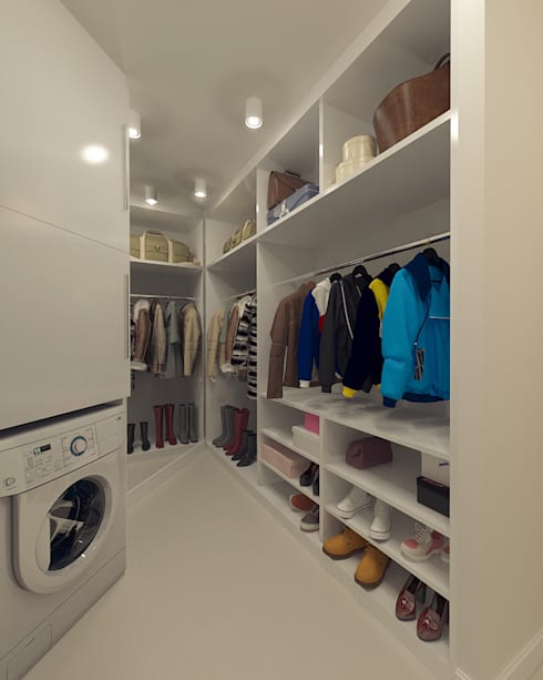 Closets de estilo  por Tutto design
