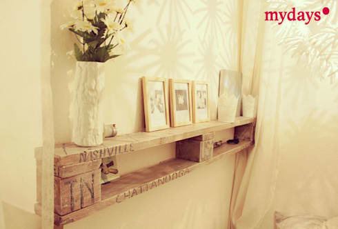 zimmer dekoration tipps von einer blogleserin por mydays homify. Black Bedroom Furniture Sets. Home Design Ideas