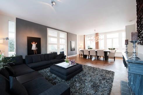 Begeleiden verbouwing, interieur-voorstel en levering van de meubels ...